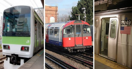 UK, USA, Japan Railways