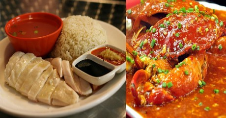 シンガポール料理 Chicken rice & Chili crab